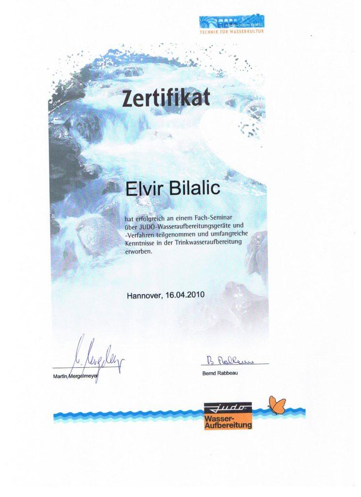 Dagmar Rasper - Elvir Bilalic Judo