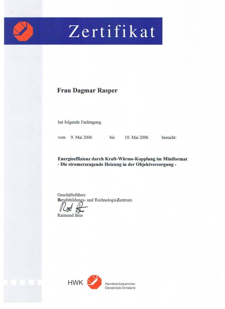 Dagmar Rasper - Energieeffizienz